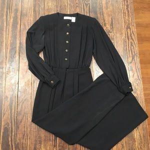 Vintage Liz Claiborne Black Jumpsuit